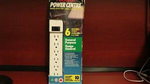 NOMA Power Bar, 6-Outlet NEW