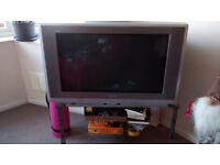 Panasonic TV with Freeview + Stand