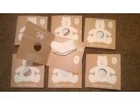 Baby Gap - Baby's first socks (white) x 7 pairs