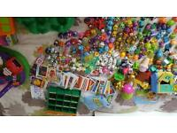 Huge Moshi Monsters & Squinkies toy collection