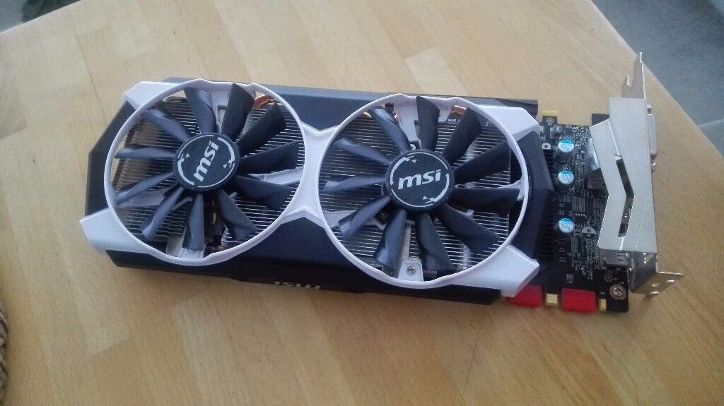 MSI GeForce GTX 970 4GD5T OC For Sale