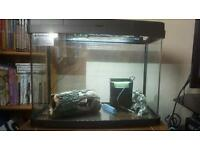 Fish Tank 40ltr with lights and heater