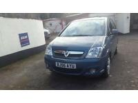 Vauxhall Meriva 1.6 Petrol - 56 plate - 51,000 - 12 months MOT