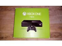 XBOX ONE 1TB Plus 8 Games and Controller.