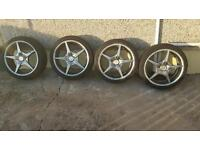 Wolfrace alloys 17 inch