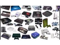 Looking for old consoles.