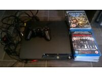 Sony Playstation 3, PS3, 250Gb, plus 11 games and blu ray.