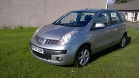 NISSAN NOTE SE 1.4 MPV.. 1 YEAR MOT