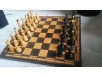 Luxury Wooden Chess Set
