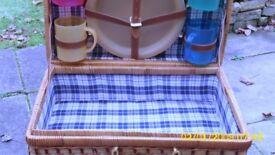 A picknic basket