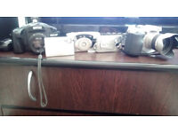 Job lot of cameras and used, untested