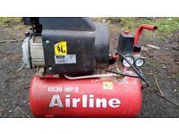 Air compressor 24 litre NUAIR
