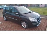 2008 renault scenic, long mot and fsh, £1250 may swap p/ex why try me