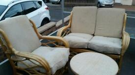 Wicker Table chairs