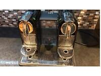 Nespresso dual multi mix coffee machine