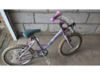 Girls Raleigh Starz bike
