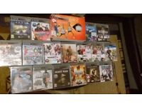 18 x PS3 game set - Witham reception only.