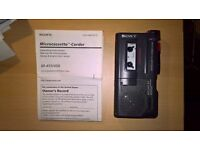 Sony Pocket Voice Recorder M-450 Clear Voice