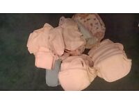 22 motherease bamboo nappies