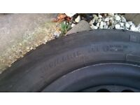 Winter tyres for golf plus with rims