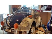 Electric ride on classic VW Beetle (6 volt)