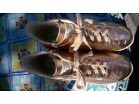 Agile Ladies Rose Gold Sneakers Size 39/6