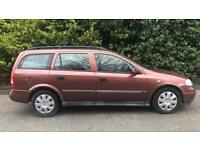 DIESEL VAUXHALL ASTRA ESTATE 2.0L (2001) long Mot WORK HORSE
