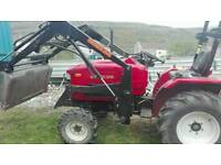 Tractor 20hp siromer with 3 implements