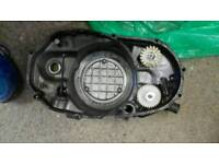 RD350 ypvs side casing including water and oil pumps