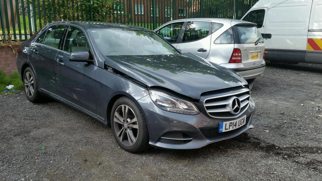 2014 Mercedes E220 Se Cdi Auto Spares Or Repair Salvage