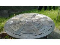 free wooden garden furniture.