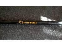 browning landing net handle and dinsmore net