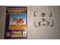 Warhammer 40k - Tyranid Carnifex (oop)