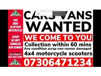 ♻️🇬🇧 SELL MY CAR VAN 4x4 CASH ON COLLECTION SCRAP DAMAGED NON RUNNING WANTED LONDON A