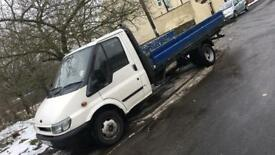 2002 transit recovery/dropside body MOT january 2019