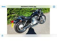 Yamaha Virago XV250S motorbike