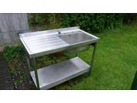 Pland catering stainless steel sink