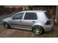 "Mk4 alloy swap new tyres 18"" need 17"""