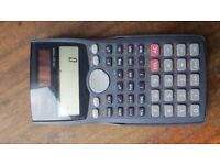 Casio Scientific Calculator fx-115MS Two-Way Power (Solar and Brand New Battery)