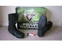 Frank Thomas Aquatech Motorcycle boots