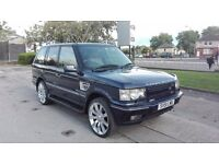 2001 RANGE ROVER P38 4.6 VOGUE AUTO MET BLUE FULLY LOADED LOW MILES LONG MOT S/HISTORY STUNNING 4X4