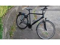 High quality cross-terrain touring / urban bike: Batavus Zonar (Dutch brand)