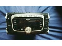 Ford sony 6cd changer (Bluetooth/aux/radio)