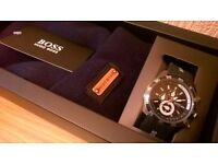 HUGO BOSS, WATCH & HAT GIFT SET, FOR MEN, BRAND NEW, GREAT GIFT , COLLECT/DELIVERY, TEL.07803366789