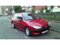 Peugeot 206 s 1.4 drives great