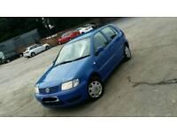 Volkswagen polo..2001..69k..4 owners..5 doors