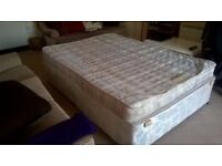 FREE DIVAN BED AND MATTRESS (collection only)