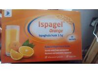 Ispagel orange high fibre drink -30 sachets