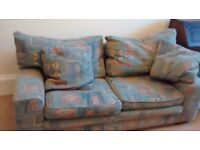 Very comfy 3-seater Sofa free to a good home. Cannot deliver, you must uplift.