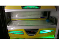 two top of the range hapro luxura gt sunbeds for sale